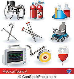 Medical icons 5 - Collection of medical icons - part 5