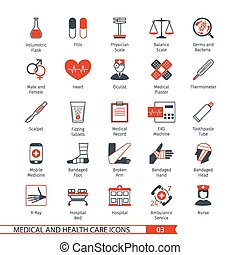 Medical Icons Set 03 - Medical and Health Care Icons Set 03