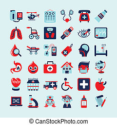 Medical icons set,