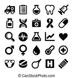 Medical icons set