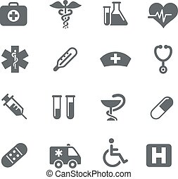 Medical Icons - Vector icons for your digital or print...