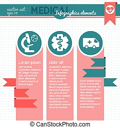 Medical Infographic Template With Text Fields