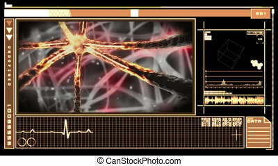 Medical interface with neuron - Medical digital interface...