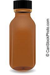 Medical jar for medicines