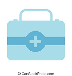 medical kit drugs isolated icon