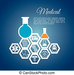 medical laboratory chemistry service vector illustration eps...