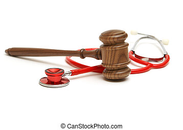 Medical Lawsuit - A concept related to a medical lawsuit in...