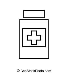 Medical line icon