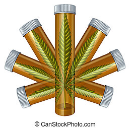 Medical Marijuana Concept