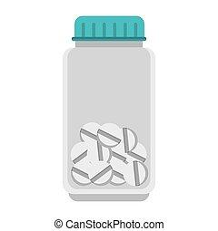 medical medicine pills bottle