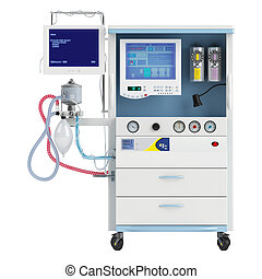 Medical narcosis device for the treatment of reversible drug...