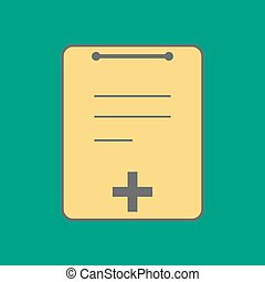 Medical Notebook Icon