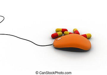 Medical online concept