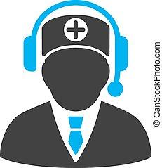 Medical Operator Icon