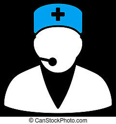 Medical Operator Icon
