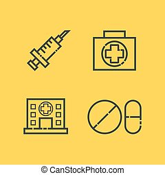 medical outline icon