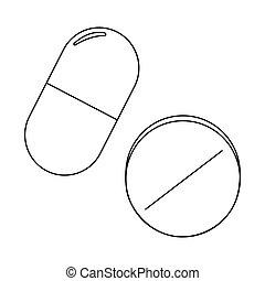 Medical Outline symbol
