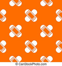 Medical patch pattern seamless