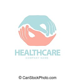 Medical pharmacy, Healthcare concept. Logo design template.