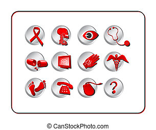 Medical & Pharmacy Icon SetMedical & Pharmacy Icon Set