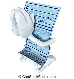 Medical Prescription Praying - A Concept And Presentation...