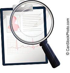Medical Record Validation - Illustration - Graphic...
