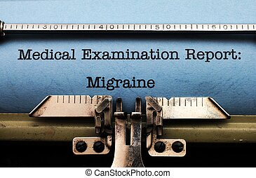 Medical report - Migraine