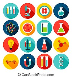 Medical Science Flat Icons