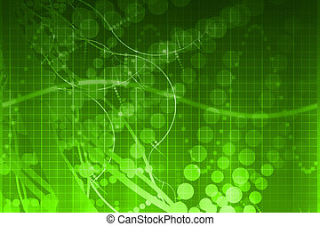Medical Science Futuristic Technology Abstract