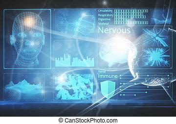 Medical screen backdrop