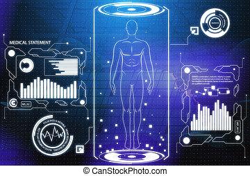 Medical screen wallpaper