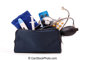 Medical set for first aid