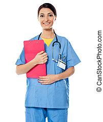 Medical specialist with prescripton report