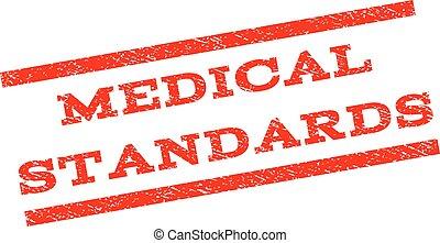 Medical Standards Watermark Stamp