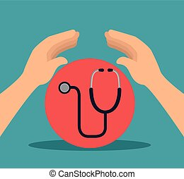 medical stethoscope tool