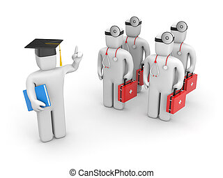 Medical student and lecturer or academic - Education...