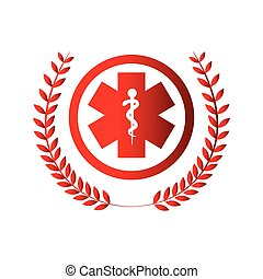 medical symbol isolated icon
