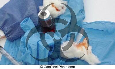 Medical Waste Biohazard Symbol Doll