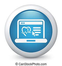 Medical website page