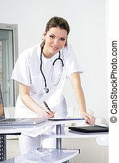 medical woman