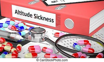 medicaments, médico, supplies., doutor, tabela, pasta, ...