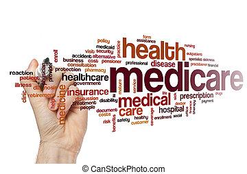 Medicare, palavra, nuvem