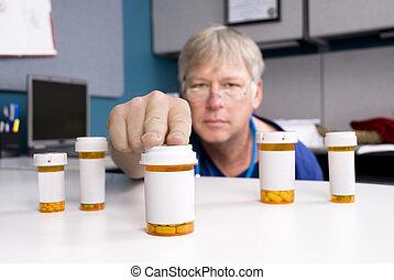 medicatie, apotheker