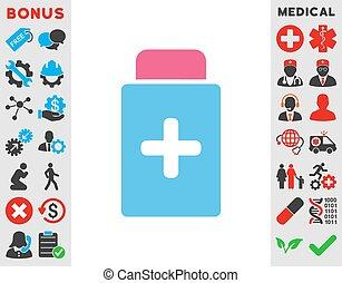 Medication Bottle Icon