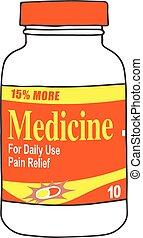 Medication Bottle Pills Sick
