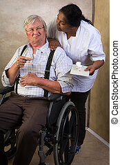 Medication in nursing home