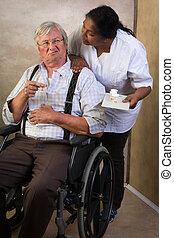 Medication in nursing home