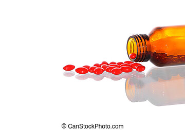 medication pills in bottle