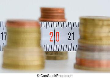 medición, financiero, resultados