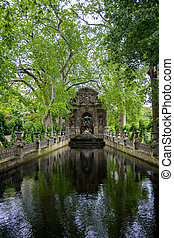 Medici Fountain in the Luxembourg Garden, Paris, France